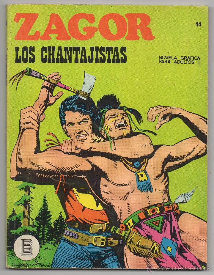 ZAGOR Nº 44 (BURU LAN 1972) (Tebeos y Comics - Buru-Lan - Zagor)
