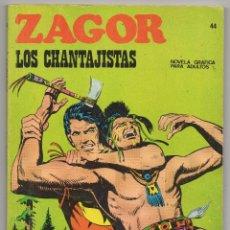 Cómics: ZAGOR Nº 44 (BURU LAN 1972). Lote 44801955
