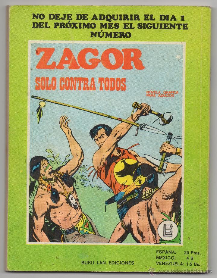 Cómics: Zagor nº 44 Contraportada - Foto 3 - 44801955