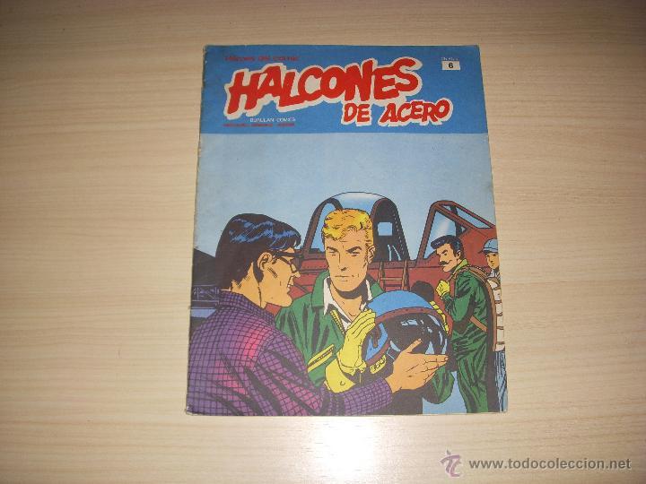 HALCONES DE ACERO Nº 6, EDITORIAL BURULAN (Tebeos y Comics - Buru-Lan - Halcones de Acero)