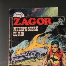 Cómics: ZAGOR 39 MUERTE SOBRE EL RIO BURU LAN. Lote 45005703