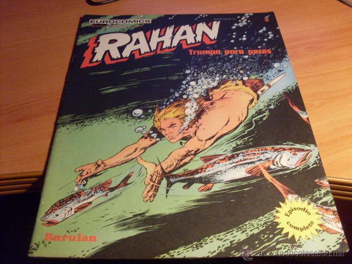 RAHAN Nº 2 (ED. BURULAN) (CL10) (Tebeos y Comics - Buru-Lan - Rahan)