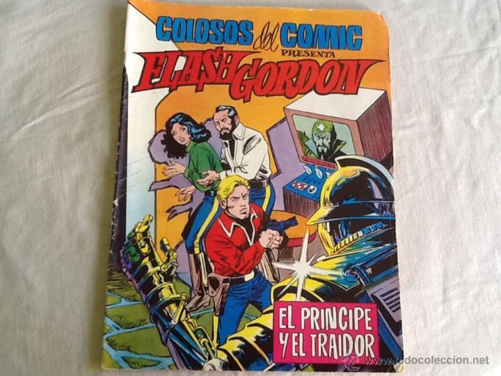 CÓMIC FLASH GORDON EL PRÍNCIPE Y EL TRAIDOR (Tebeos y Comics - Buru-Lan - Flash Gordon)