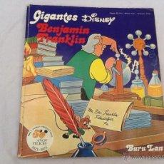 Cómics: GIGANTES DISNEY BENJAMÍN FRANKLIN 1973. Lote 45664728