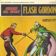 Cómics: -57981 COMIC FLASH GORDON, Nº 1, EN LOS BOSQUES DE ARBORIA, AÑO 1971, TEBEOS. Lote 45702389