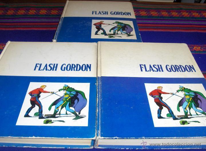 FLASH GORDON TOMOS NºS 1(2), 2 Y 3. BURU LAN 1971. (Tebeos y Comics - Buru-Lan - Flash Gordon)