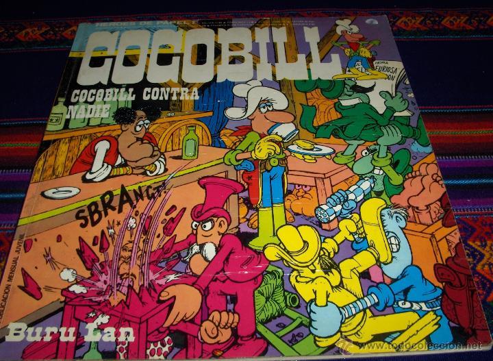 HÉROES DE PAPEL Nº 2 COCOBILL Nº 2. BURU LAN 1973 50 PTS. CONTRA NADIE. BUEN ESTADO RARO. (Tebeos y Comics - Buru-Lan - Otros)