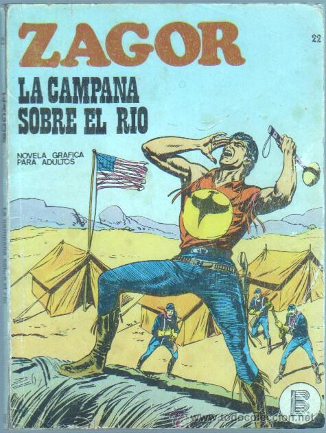 ZAGOR Nº 22 EDI. BURULAN 1972 - 96 PGS. 25 PTS (Tebeos y Comics - Buru-Lan - Zagor)
