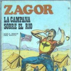 Cómics: ZAGOR Nº 22 EDI. BURULAN 1972 - 96 PGS. 25 PTS. Lote 45884623