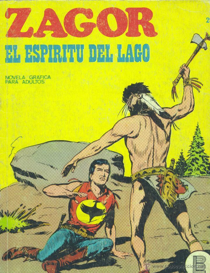 ZAGOR Nº20. BURULÁN, 1972 (Tebeos y Comics - Buru-Lan - Zagor)