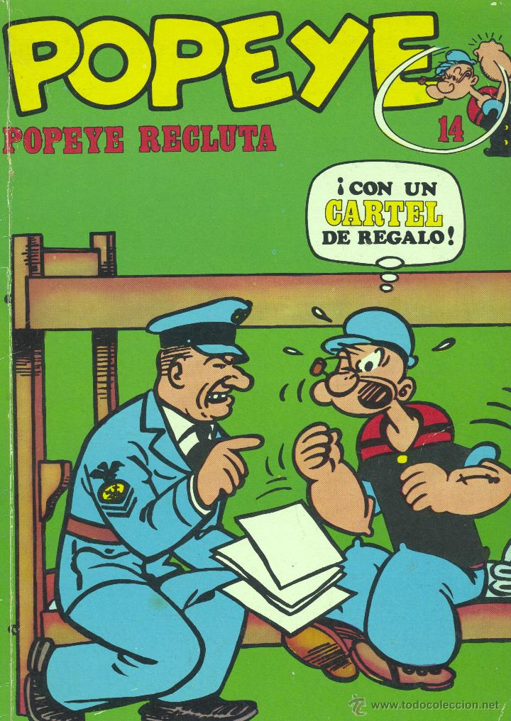 POPEYE Nº14. BURULÁN, 1971 (Tebeos y Comics - Buru-Lan - Popeye)