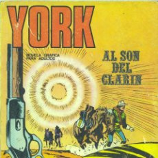 Cómics: YORK Nº1. EDITORIAL BURULÁN, 1971. Lote 45915860