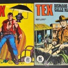 Cómics: LOTE DE 2 TEX Nº 1 Y 15 EDICIONES BURU LAN, S.A 1971. Lote 45938845