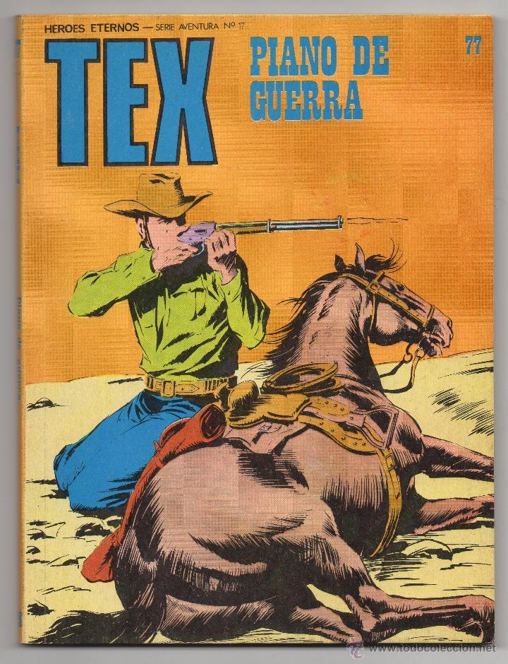 TEX Nº 77 (BURU LAN 1973) (Tebeos y Comics - Buru-Lan - Tex)