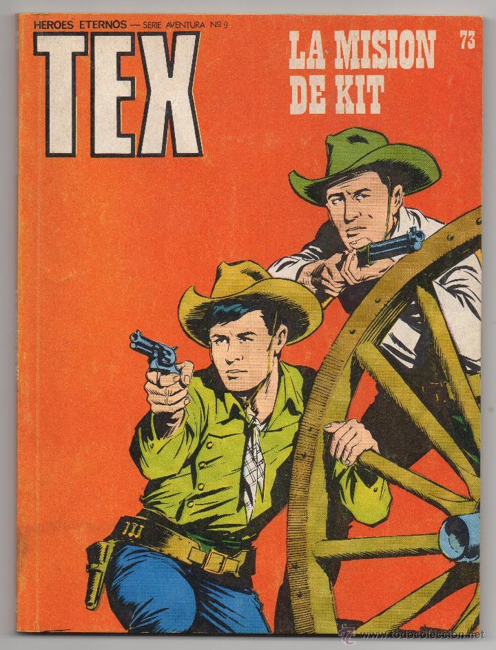 TEX Nº 73 (BURU LAN 1973) (Tebeos y Comics - Buru-Lan - Tex)