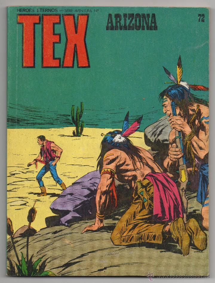 TEX Nº 72 (BURU LAN 1973) (Tebeos y Comics - Buru-Lan - Tex)