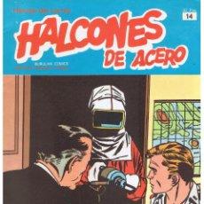 Cómics: HALCONES DE ACERO.Nº 14. BURULAN COMICS. 1974. (RF.MA). Lote 46105108