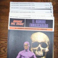 Cómics: LOTE 5 TEBEOS EL HOMBRE ENMASCARADO (EDICIONES BURU LAN COMICS) - COMICS. Lote 46198798