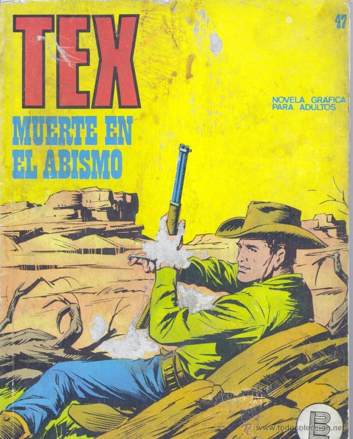 TEX Nº47. BURULÁN, 1972 (Tebeos y Comics - Buru-Lan - Tex)