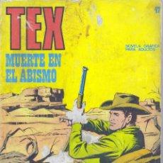 Cómics: TEX Nº47. BURULÁN, 1972. Lote 46319599