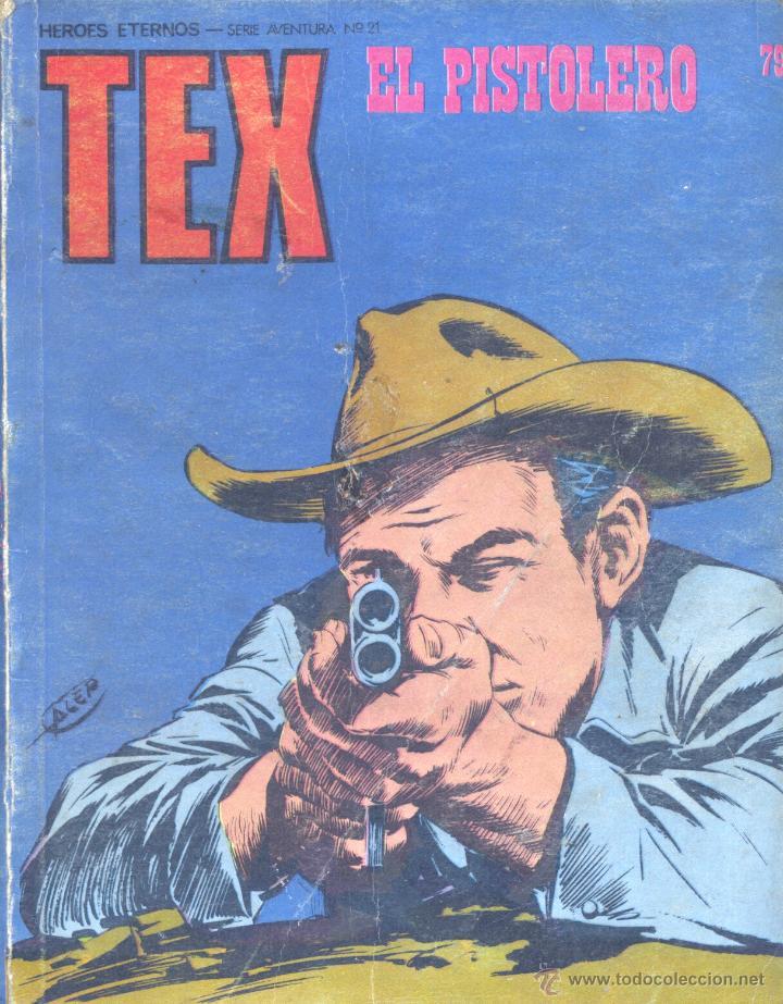 TEX Nº79. BURULÁN, 1974 (Tebeos y Comics - Buru-Lan - Tex)