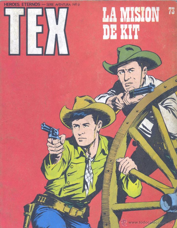 TEX Nº73. BURULAN, 1973 (Tebeos y Comics - Buru-Lan - Tex)