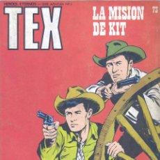 Cómics: TEX Nº73. BURULAN, 1973. Lote 46388556