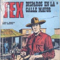Cómics: TEX Nº 15. BURULÁN, . Lote 46388693