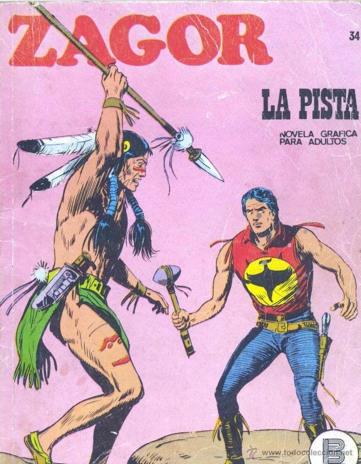 ZAGOR Nº37. BURULÁN, 1972 (Tebeos y Comics - Buru-Lan - Zagor)