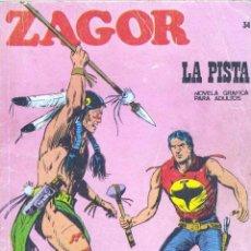 Cómics: ZAGOR Nº37. BURULÁN, 1972. Lote 46388973