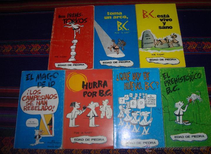 EDAD DE PIEDRA POR J. HART NºS 1 2 3 5 10 11 12. BURU LAN 1972 BUEN ESTADO Y RAROS. (Tebeos y Comics - Buru-Lan - Otros)
