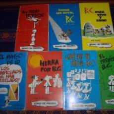 Cómics: EDAD DE PIEDRA POR J. HART NºS 1 2 3 5 10 11 12. BURU LAN 1972 BUEN ESTADO Y RAROS.. Lote 46555200