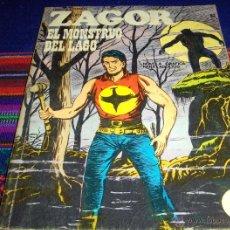 Cómics: ZAGOR Nº 52. BURU LAN 1972. 25 PTS. EL MONSTRUO DEL LAGO. BUEN ESTADO.. Lote 46555241