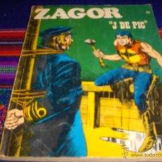 Cómics: ZAGOR Nº 56. BURU LAN 1973. 25 PTS. J DE PIC. BUEN ESTADO.. Lote 46555278