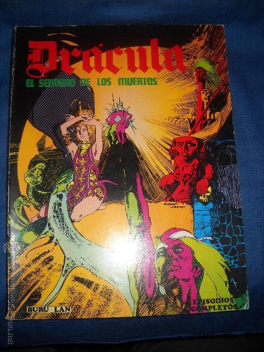 DRACULA BURULAN,EL SENDERO DE LOS MUERTOS. (Tebeos y Comics - Buru-Lan - Drácula)