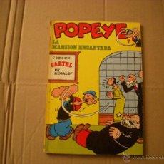 Cómics: POPEYE Nº 7, EDITORIAL BURULAN. Lote 46978625