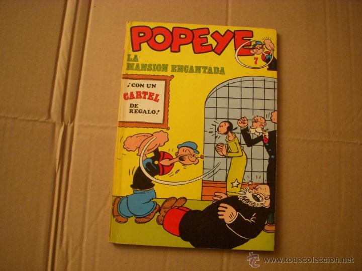 POPEYE Nº 7, EDITORIAL BURULAN (Tebeos y Comics - Buru-Lan - Popeye)