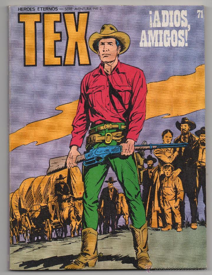 TEX Nº 71 (BURU LAN 1973) (Tebeos y Comics - Buru-Lan - Tex)
