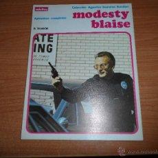 Cómics: MODESTY BLAISE EL TRAIDOR EPISODIOS COMPLETOS ALBUM TOMO NUMERO 4 ED. BURULAN 1974 BURU LAN. Lote 47035699