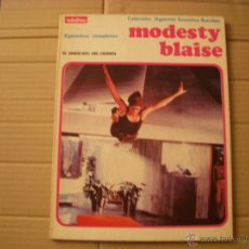 Cómics: MODESTY BLAISE, EPISODIOS COMPLETOS, EL SINDICATO DEL CRIMEN, EDITORIAL BURULAN. Lote 47042846