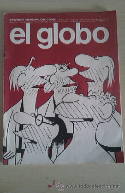 EL GLOBO Nº 3 BURU-LAN 1973 (Tebeos y Comics - Buru-Lan - Otros)