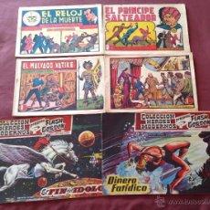 Cómics: LOTE DE 6 COMICS 2 FLASH GORDON Y 4 ROBERTO ALCAZAR ORIGINALES AÑOS 50/60. Lote 47360606
