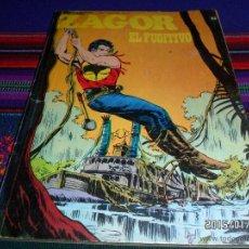 Cómics: ZAGOR Nº 63. BURU LAN 1973. 25 PTS. EL FUGITIVO. BUEN ESTADO Y DIFÍCIL!!!!!. Lote 47449863