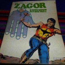 Cómics: ZAGOR Nº 73. BURU LAN 1974. 25 PTS. RIVERPOINT. DIFÍCIL!!!!!!. Lote 47450106