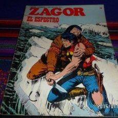 Cómics: ZAGOR Nº 75. BURU LAN 1974. 30 PTS. EL ESPECTRO. BUEN ESTADO. DIFÍCIL!!!!. Lote 47450174