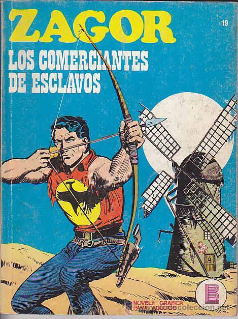 COMIC ZAGOR Nº 19 (Tebeos y Comics - Buru-Lan - Zagor)