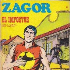 Cómics: COMIC ZAGOR Nº 21. Lote 47455164