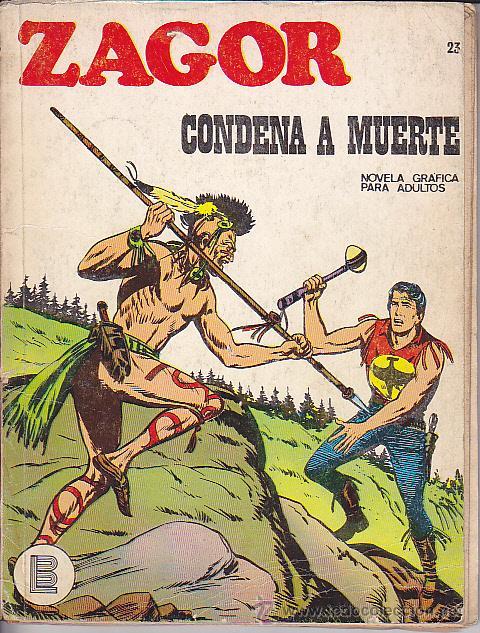 COMIC ZAGOR Nº 23 (Tebeos y Comics - Buru-Lan - Zagor)