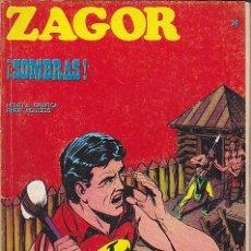 Cómics: COMIC ZAGOR Nº 24. Lote 47455228