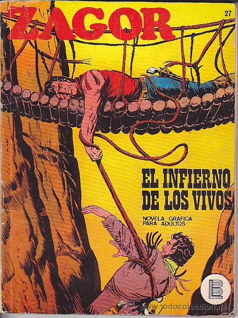 COMIC ZAGOR Nº 27 (Tebeos y Comics - Buru-Lan - Zagor)